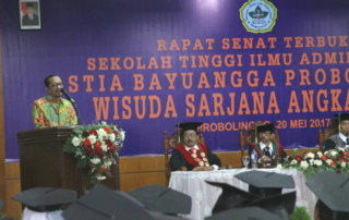 133 Mahasiswa STIA Bayuangga Diwisuda